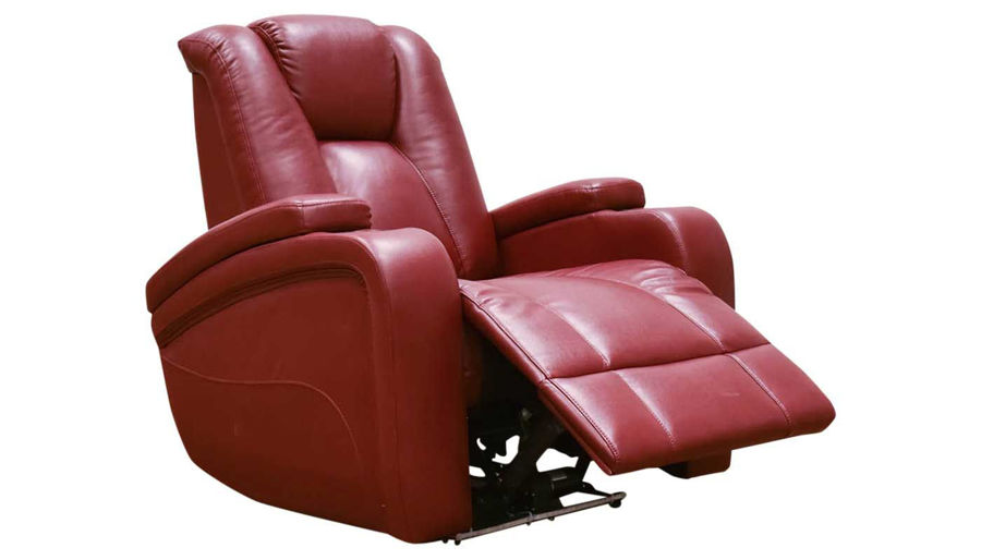 Picture of Panther 2 Red Power Recliner