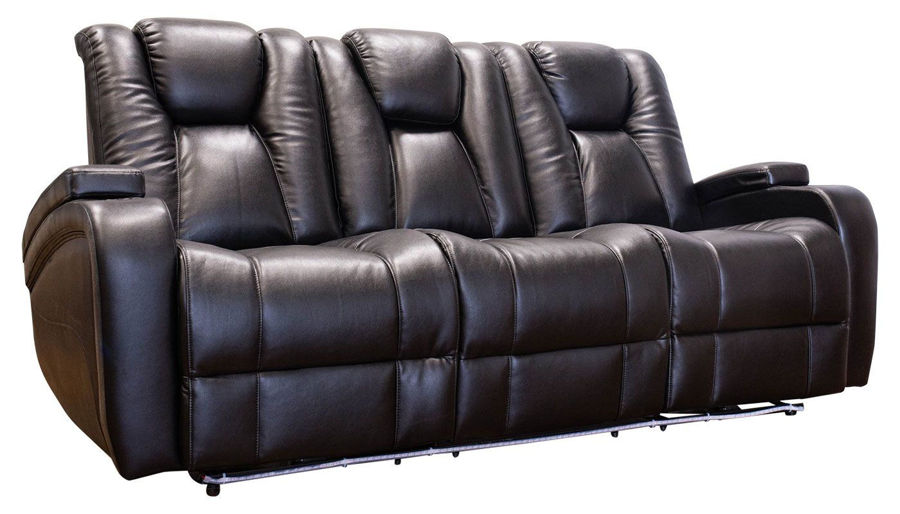 Picture of Panther 2 Black Power Sofa & Loveseat