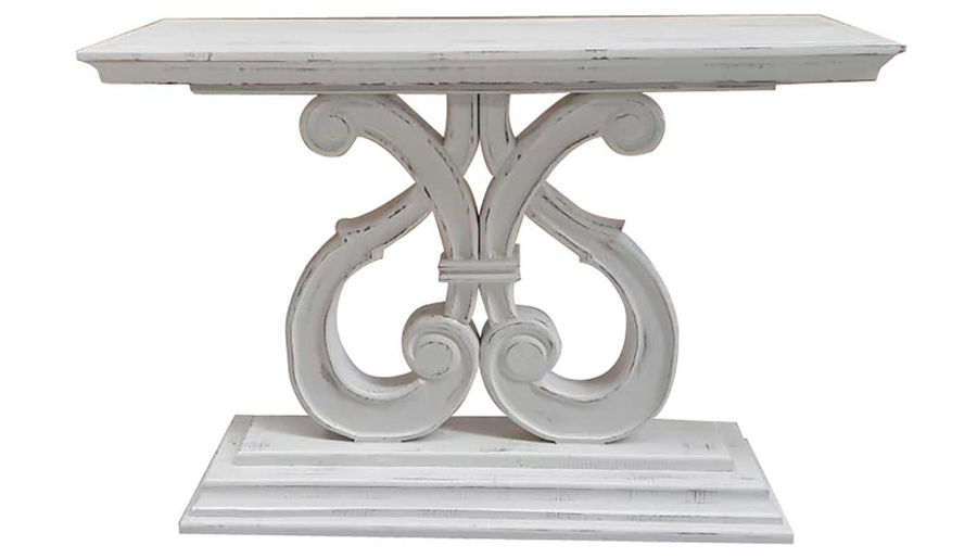 Picture of Harp Nero White Entryway Table
