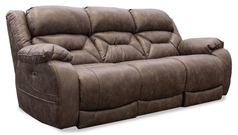 Picture of Houston Taupe Power Sofa
