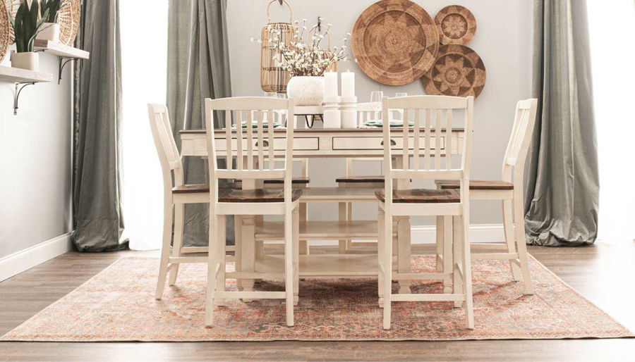 Picture of Jefferson Table & Counter Height Stools