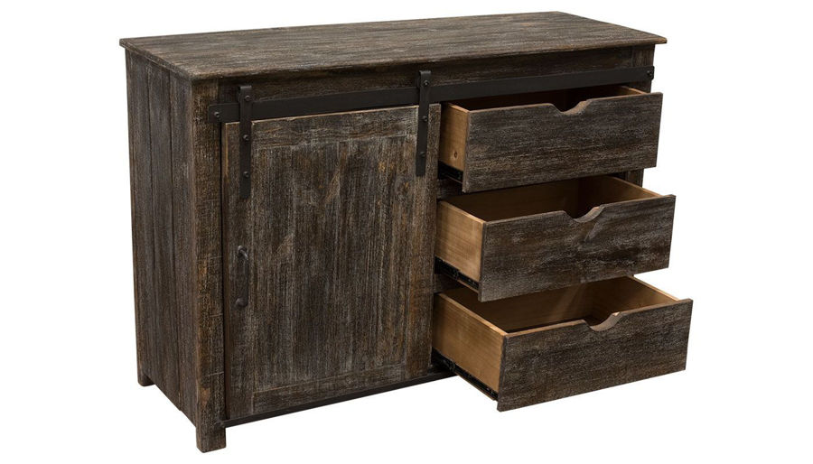 """Picture of 50"""" Barnwood Entertainment Console"""