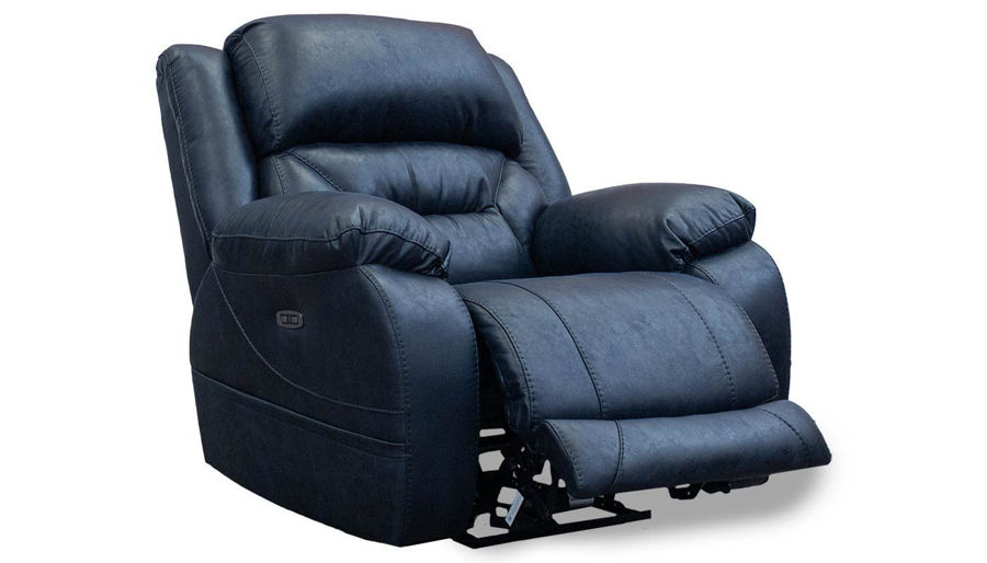 Picture of Houston Navy Power Recliner
