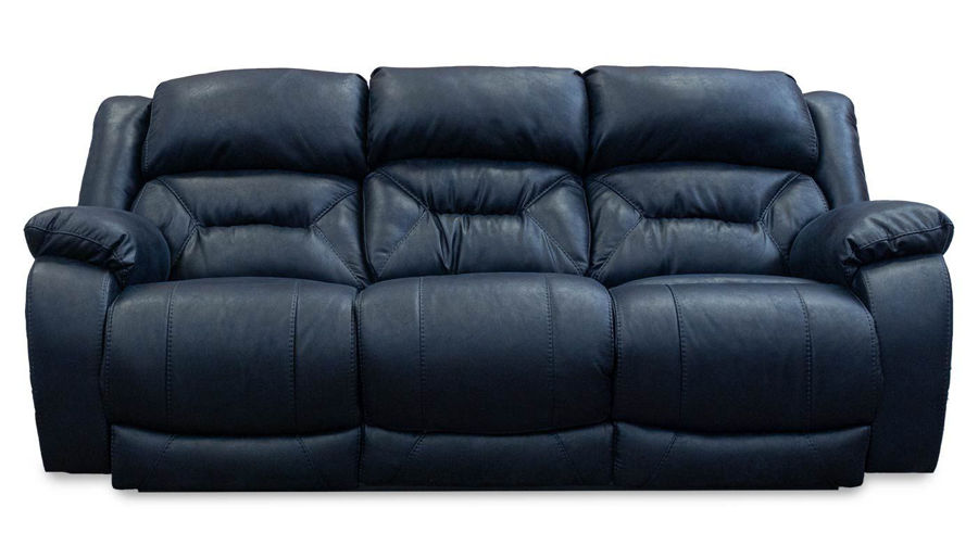 Picture of Houston Navy Power Sofa, Loveseat & Recliner