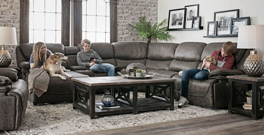 Picture of Echo III Power 6-Piece Left Chaise Sectional