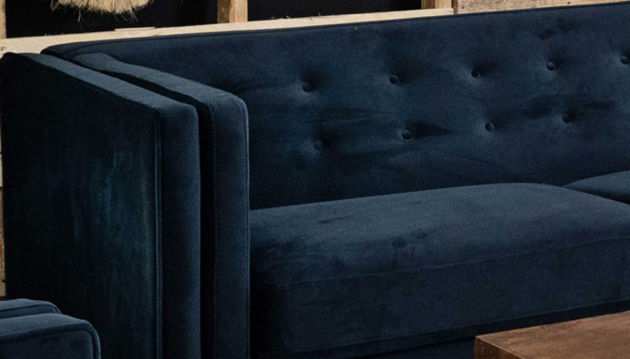 Picture of Dryden II Royale Navy Sofa, Loveseat & Chair