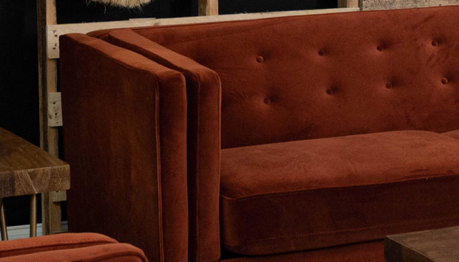 Picture of Dryden II Rust Sofa, Loveseat & Chair
