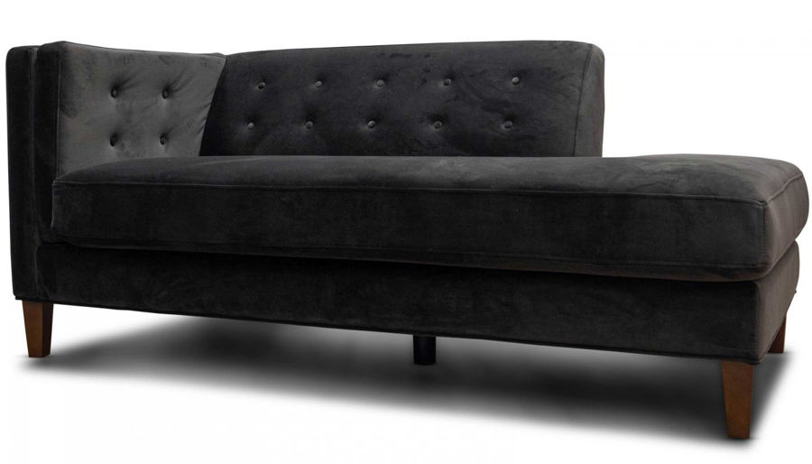 Picture of Dryden II Chocolate Chaise