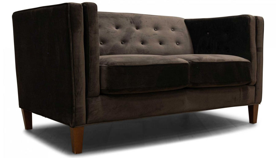 Picture of Dryden II Chocolate Loveseat