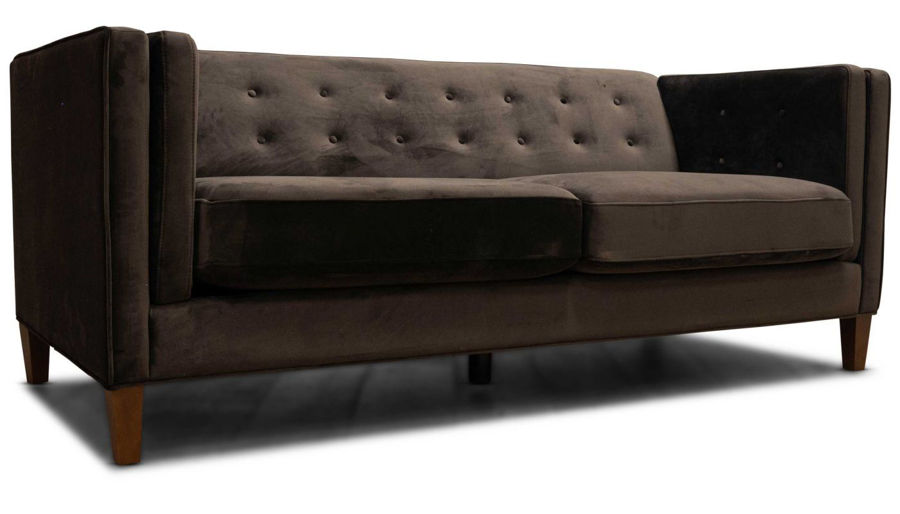 Picture of Dryden II Chocolate Sofa