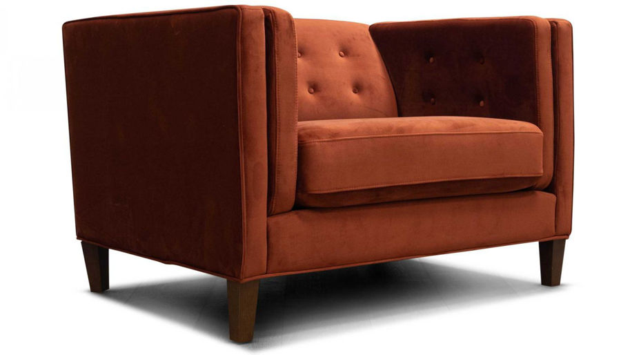 Picture of Dryden II Rust Chair